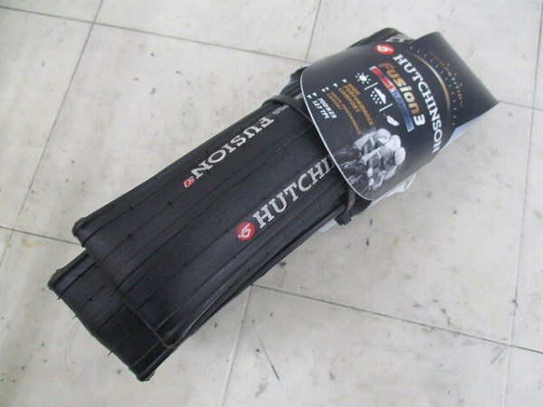 タイヤ FUSION3 700x23c チューブレス