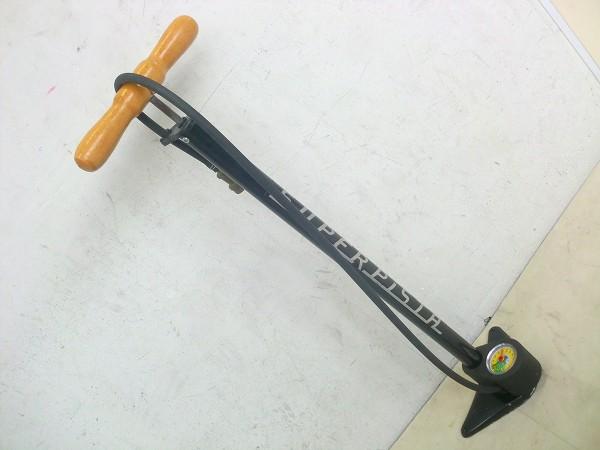 フロアポンプ SUPER PISTA 仏式 ブラック