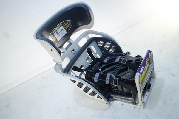 RBC-009DX3 5点式シートベルト チャイルドシート(ヘッドレスト付デラックスうしろ子供のせ)