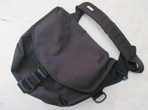 メッセンジャーバッグ W350×H300×D120mm ブラック