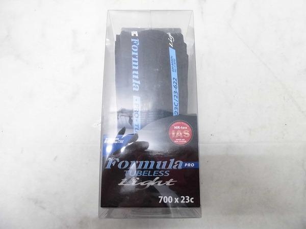 チューブレスタイヤ Formula PRO LIGHT 700x23C ブラック