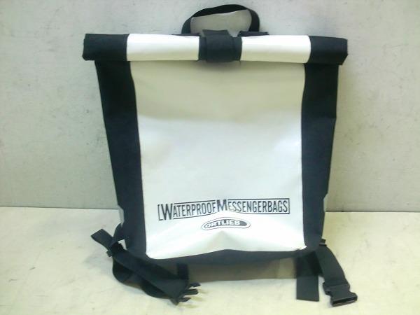 バッグパック MESENGERBAGS ホワイト/ブラック