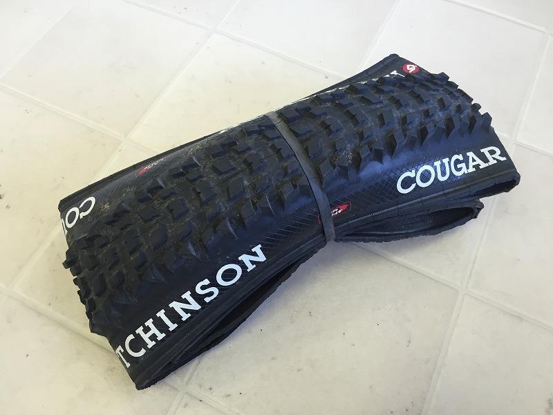 チューブレスタイヤ COUGAR クーガー 26×2.20 TLR