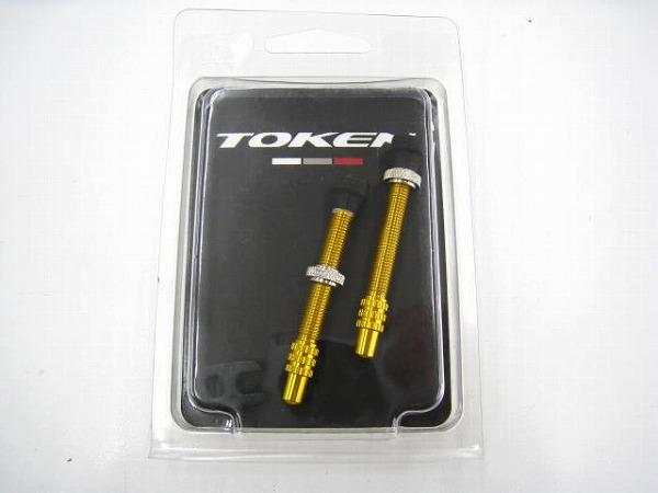 チューブレスバルブ TK3351A ゴールド 2本セット