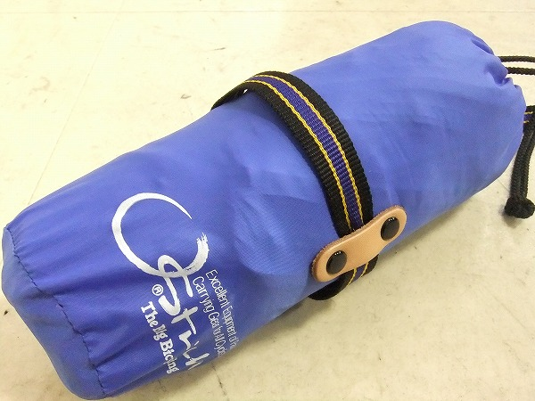 輪行袋 ロード220 ブルー