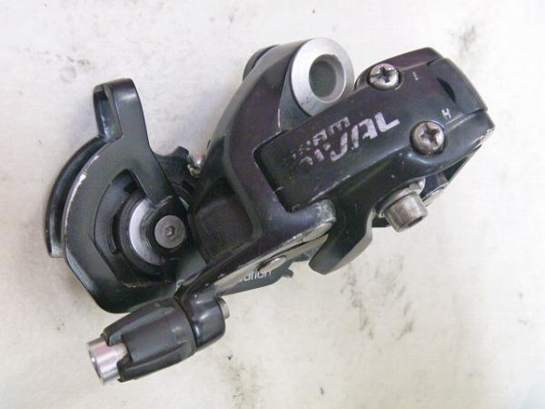 リアディレイラー RIVAL 10s ブラック