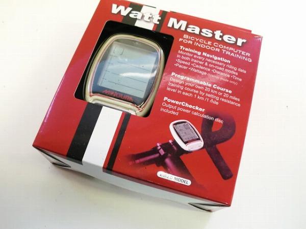 トレーナー専用コンピューター Watt Master ワットマスター