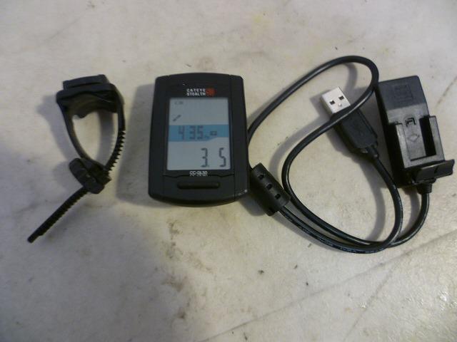 GPS付サイクロコンピューター CC-GL50 本体のみ