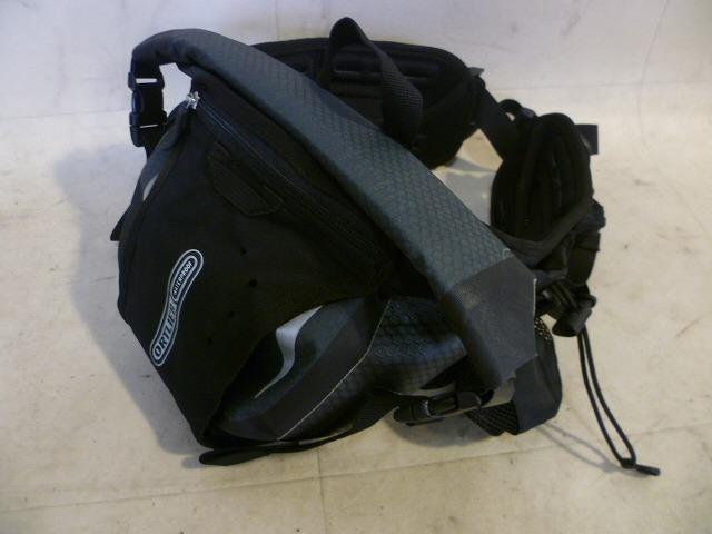 ウェストバッグ ヒップパック2 ブラック Mサイズ