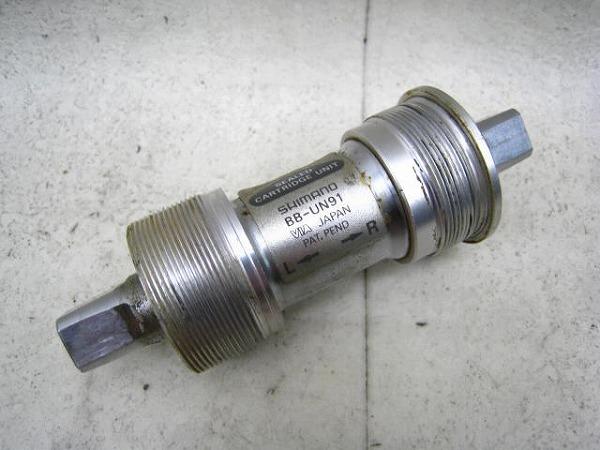 ボトムブラケット BB-UN91 ITA/70mm 115mm スクエア
