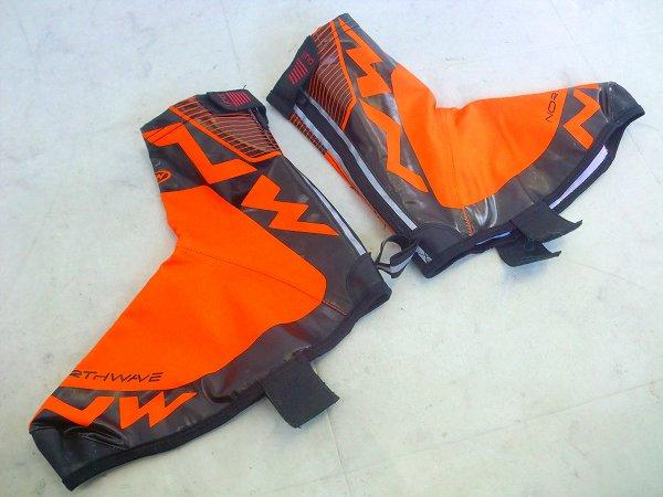 シューズカバー H2o Winter High XLサイズ オレンジ/ブラック