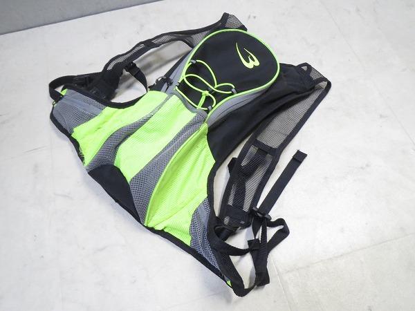 バッグパック 420x200mm グリーン/ブラック