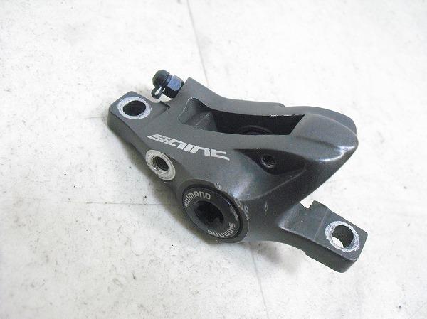 ディスクブレーキキャリパー SAINT BR-M800 パッド欠品