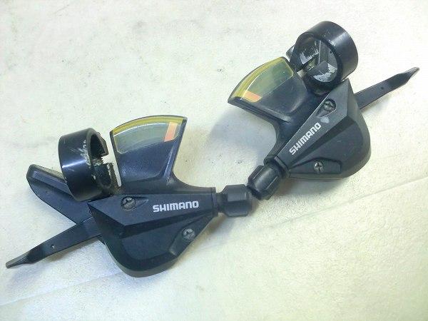 シフター SL-M310 3x8s ※樹脂割れ/変色