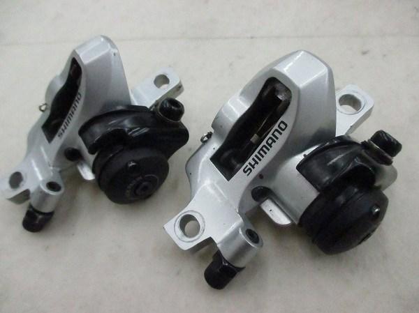 パット磨耗 機械式ディスクブレーキキャリパーセット BR-R505