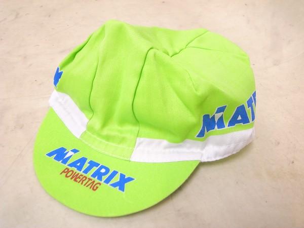 サイクルキャップ MATRIX POWERTAG フリーサイズ グリーン