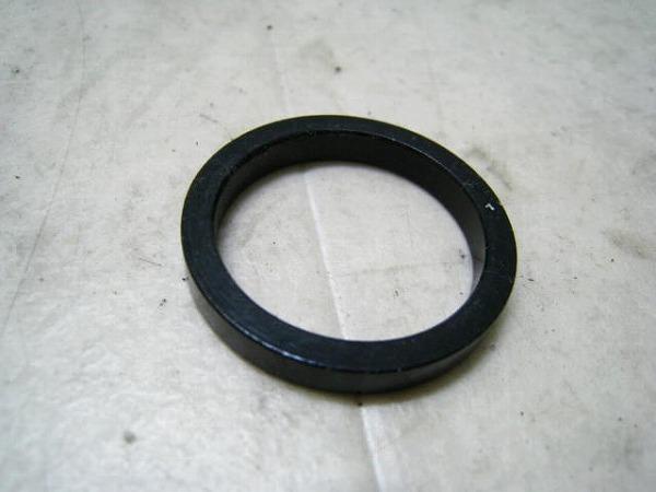 コラムスペーサー 5mm OS アルミ ブラック