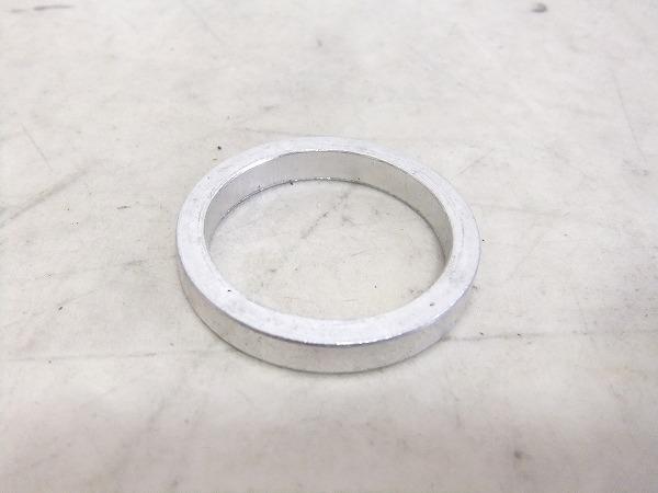 コラムスペーサー アルミ製 シルバー OSコラム対応 高さ:5mm