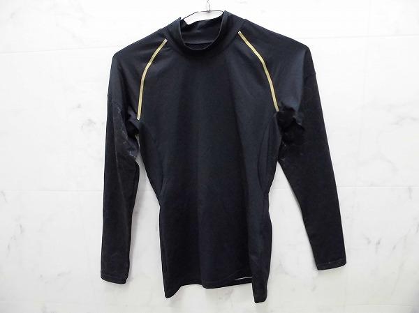 長袖アンダーシャツ Sサイズ ブラック