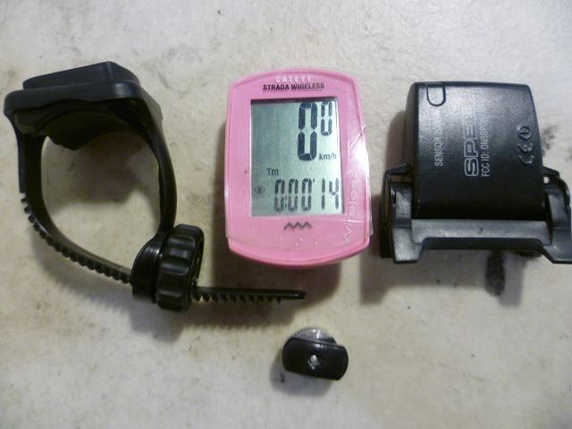 サイクロコンピューター CC-RD300W ピンク