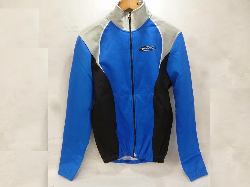 長袖ジャケット ブルー/グレー/ブラック Lサイズ