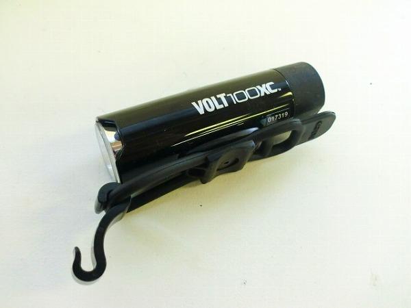 フロントライト VOLT100 XC HL-EL051RC ブラック ※動作確認済み