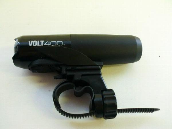 フロントライト VOLT400 ブラック USB充電式