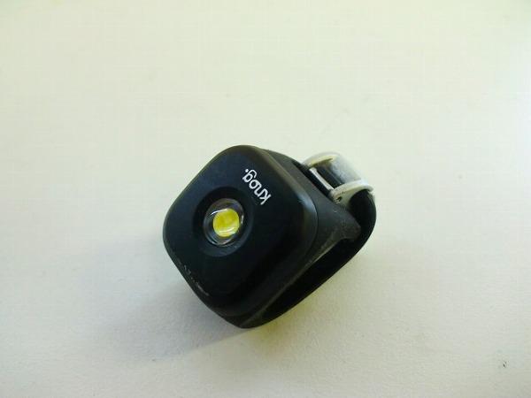 フロントライト Blinder MINI DOT 1LED ブラック ※充電・動作確認済み
