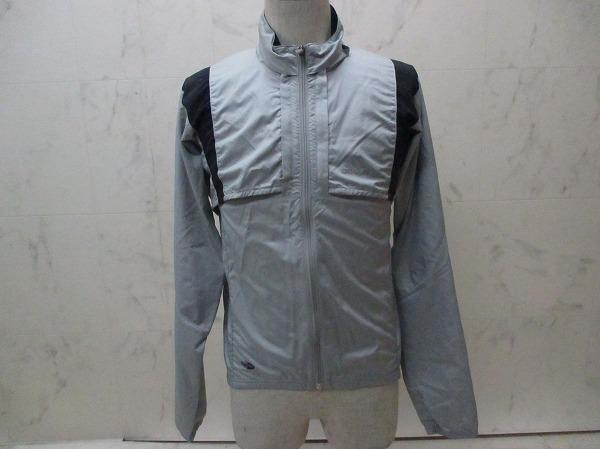 長袖フルジップジャケット サイズ:M グレー