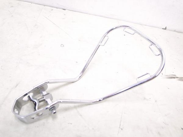 サドルバッグサポーター シートポスト固定タイプ シルバー