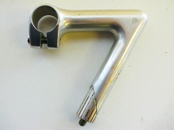 スレッドステム NITTO100 100/25.4/22.2mm NJS アルミ シルバー