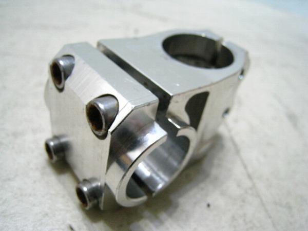 アヘッドステム 40/25.4/28.6mm アルミ シルバー