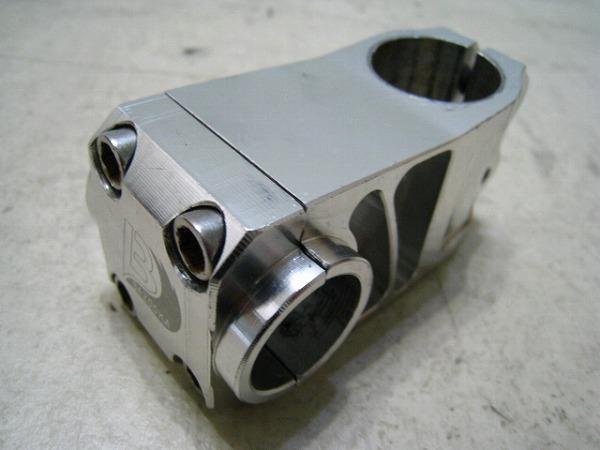 アヘッドステム 60/25.4/28.6mm アルミ シルバー