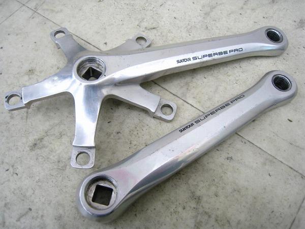 クランクアーム SUPERBE PRO 167.5mm PCD:130mm
