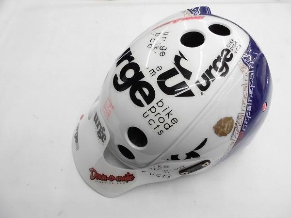 ヘルメット Endur-o-Matic サイズ:57-60cm ホワイト/ブルー