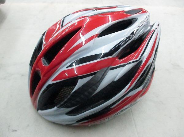 ヘルメット FIGO レッド/ホワイト サイズ:M/L