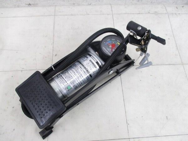 DXフットポンプ 英/米式 7bar シルバー