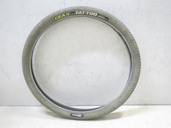 クリンチャータイヤ GEAX TATTOO 26x2.3