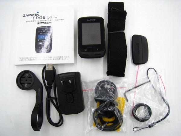 GPS内臓サイクルコンピュータ EDGE510J ※センサー等欠品