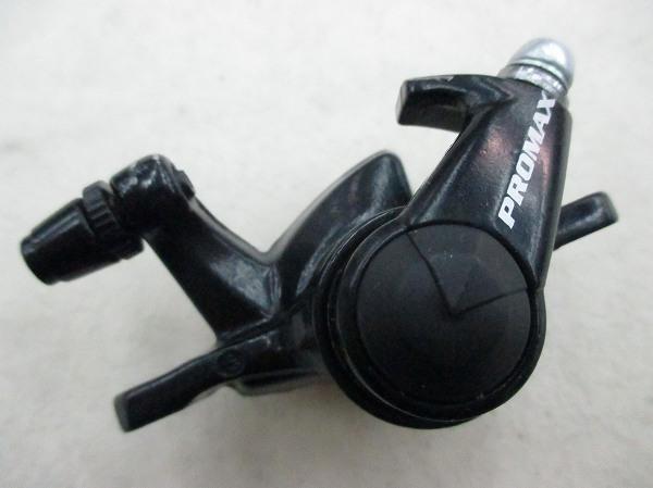 メカニカルディスクブレーキキャリパー ブラック