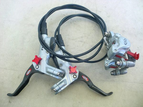 油圧ディスクブレーキユニット Juicy Carbon 620/1210mm(実測)
