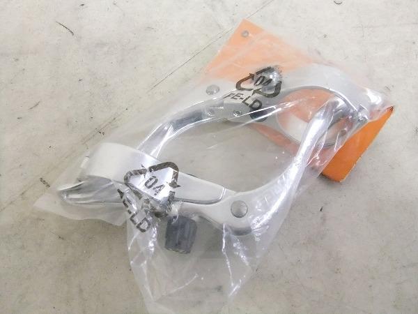 ブレーキレバー シルバー 31.8mmクランプ径対応