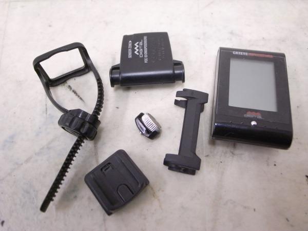 サイクルコンピュータ CC-AT200W ADVENTURE