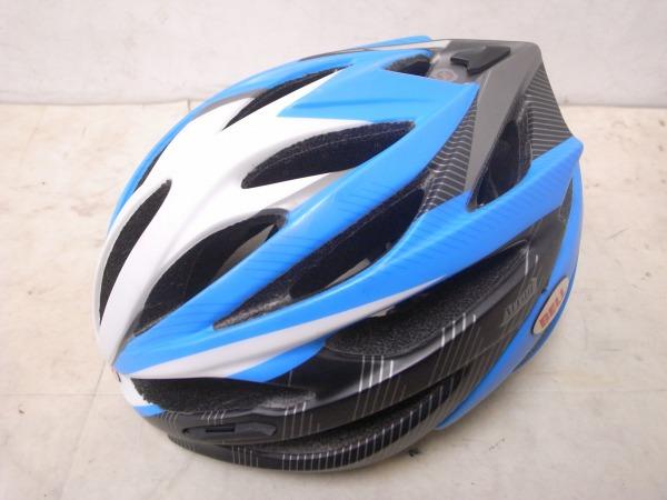 ヘルメット ARRAY Lサイズ ブラック/ブルー