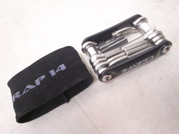 携帯工具 RAP-14 14機能 ブラック/シルバー