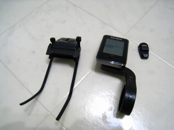 サイクルコンピューター CC-MC200W ブラック