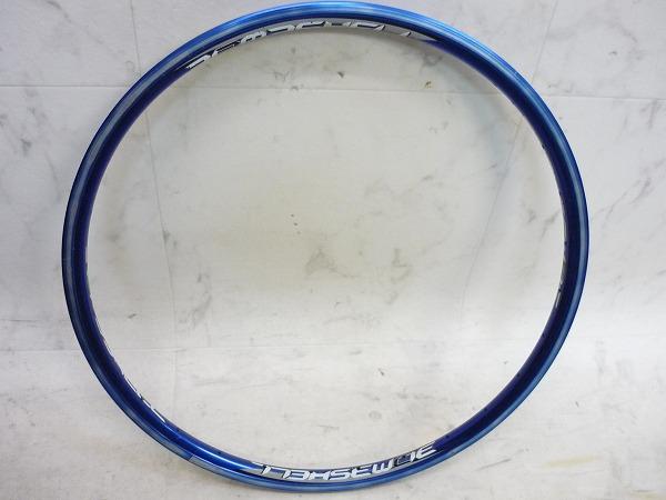 リム 20×1 1/8 28H ブルー