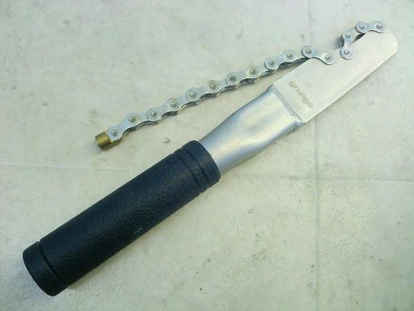 スプロケット固定工具