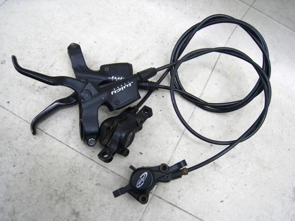 油圧ブレーキユニット JUICY THREE 740mm/1250mm