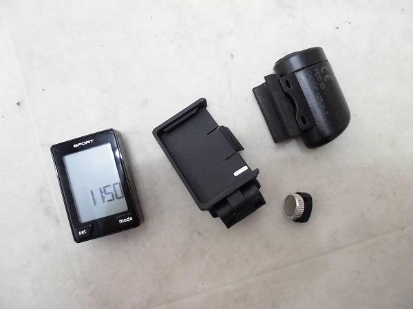 サイクルコンピューター SpeedZone Sport Wireless ブラック